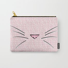 Crazy Cat Lady (Meow Meow Meow Pattern) Carry-All Pouch