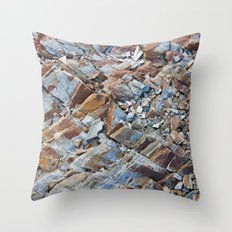 Natural Rock Pattern Throw Pillow