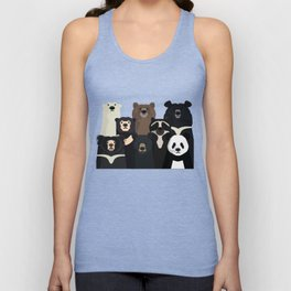 Bears of the world Unisex Tank Top