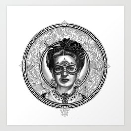 FRIDA SAVAGGE. Art Print