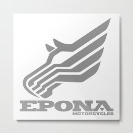 Epona Motorcycles Metal Print