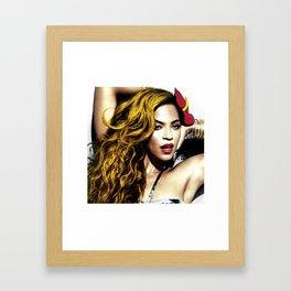 Beyon C Framed Art Print