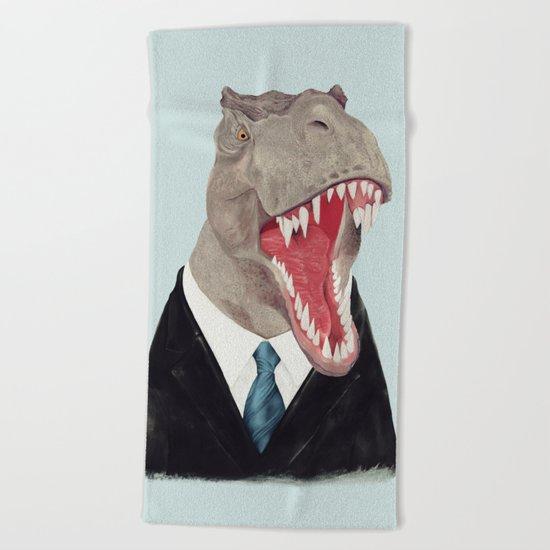 T. Rex - All Business Beach Towel