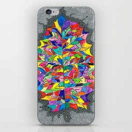 Rainbow Leaf iPhone Skin