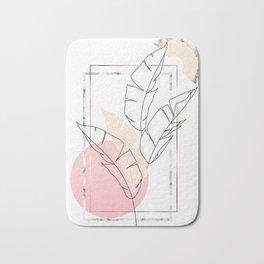Tropical minimal Bath Mat