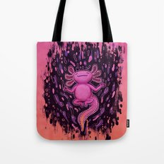 Relaxxie the Axolotl Tote Bag