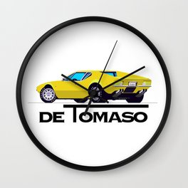 DeTomaso Wall Clock