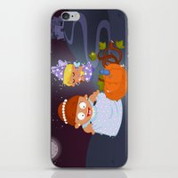 cinderella iPhone & iPod Skins featuring Cinderella by Alapapaju