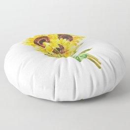 sunflower bouquet 2020 Floor Pillow