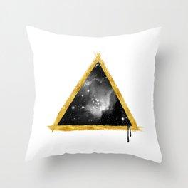 Cosmos Pyramid Throw Pillow