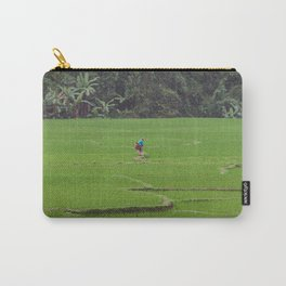 Rice Paddies in Kho Muong, Vietnam Carry-All Pouch