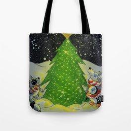 Tree Lighting Tote Bag