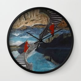"""Ascent/ Descent"" Wall Clock"