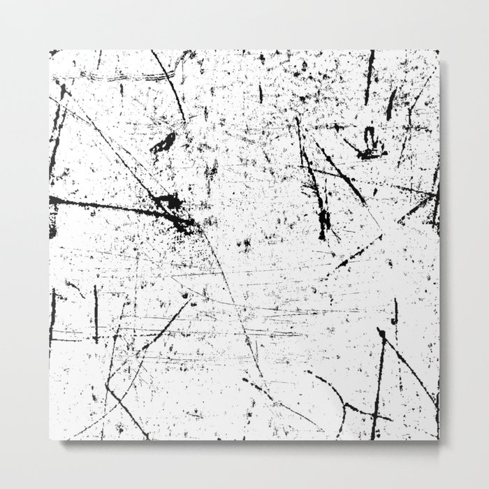 Scattered mind Metal Print