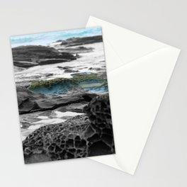 Lorne Beach Rocks Stationery Cards