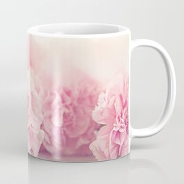 Pale Pink Carnations 4 Coffee Mug
