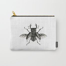 Stag Beetle Carry-All Pouch