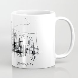 Downtown Los Angeles Coffee Mug