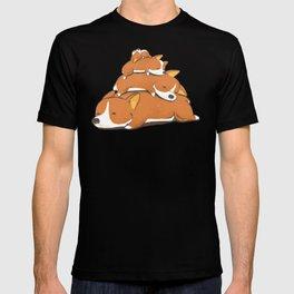 Comfy Bed - CORGI T-shirt