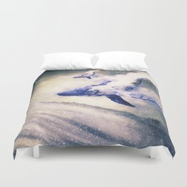 A Lighthouse Called Sedna Duvet Cover