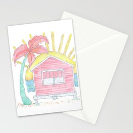 Beach Shack Vibes Stationery Cards