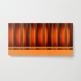 Abstract Patern Metal Print