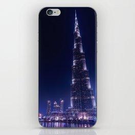 Burj Khalifa Skyscraper In Dubai iPhone Skin
