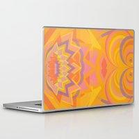 chakra Laptop & iPad Skins featuring Swadhisthana Chakra by anabra
