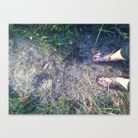 feet Canvas Prints featuring Feet by Au Gold