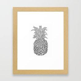 The Pineapple Framed Art Print