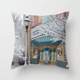 Theater Art Throw Pillow