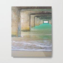 Hanalei Bay Pier Fine Art photography Metal Print