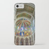 real madrid iPhone & iPod Cases featuring Almudena Cathedral, Madrid by Svetlana Korneliuk
