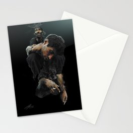 Heavy Shoulders Stationery Cards