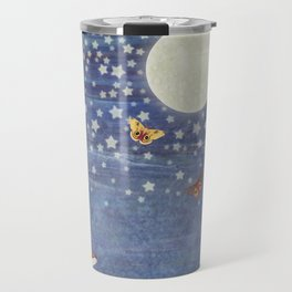 moonlit foxes Travel Mug