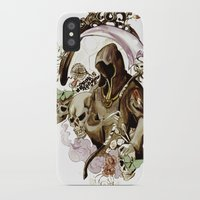 tarot iPhone & iPod Cases featuring Death Tarot by A Hymn To Humanity