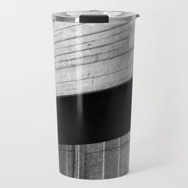 brutalist angles - national theatre london Travel Mug