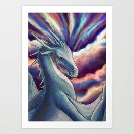 Cloud Dragon Art Print