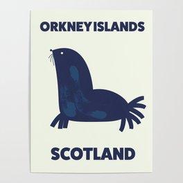 Orkney Islands, Scotland Poster
