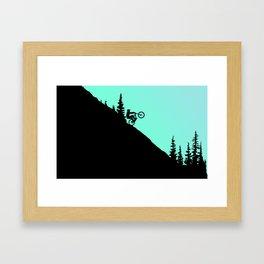 MTB 2colors Framed Art Print