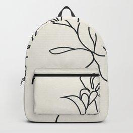 Abstract Minimal  Woman II Backpack