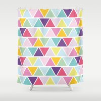 candy Shower Curtains featuring Candy by C Designz
