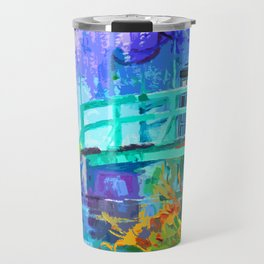 Tardis Art And The Bridge Travel Mug