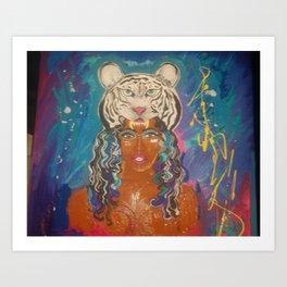 Princess War Art Print