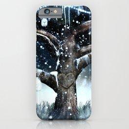 Rustic Winter Tree iPhone Case