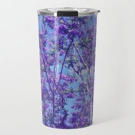 Purple Jacaranda Travel Mug
