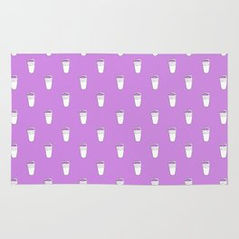 Double Cup Allover Print Rug