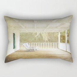 Empty Chairs Rectangular Pillow