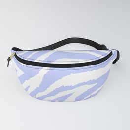 ZEBRA PURPLE AND WHITE ANIMAL PRINT Fanny Pack