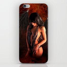 FALLEN ANGEL 02 iPhone Skin